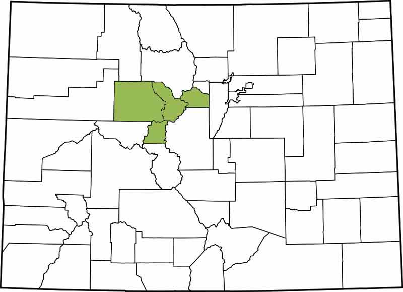 Find A County In Colorado View A List Of Cities And Towns