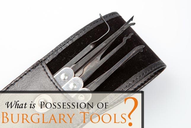 Fort Collins Possession of Burglary Tools Attorney