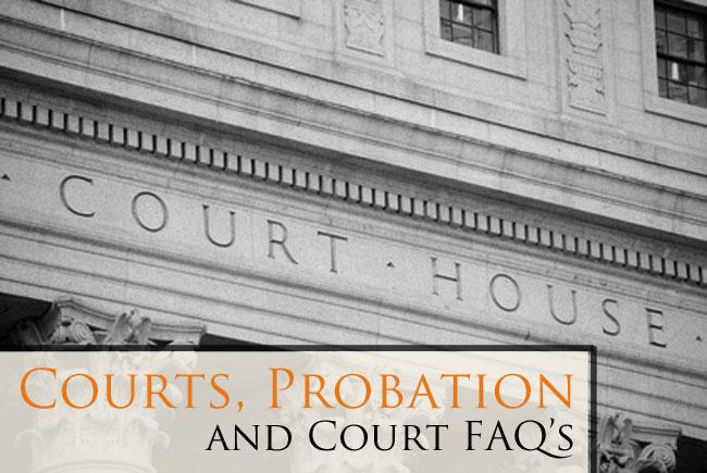 Larimer County Justice Center: Probation, Court Procedures